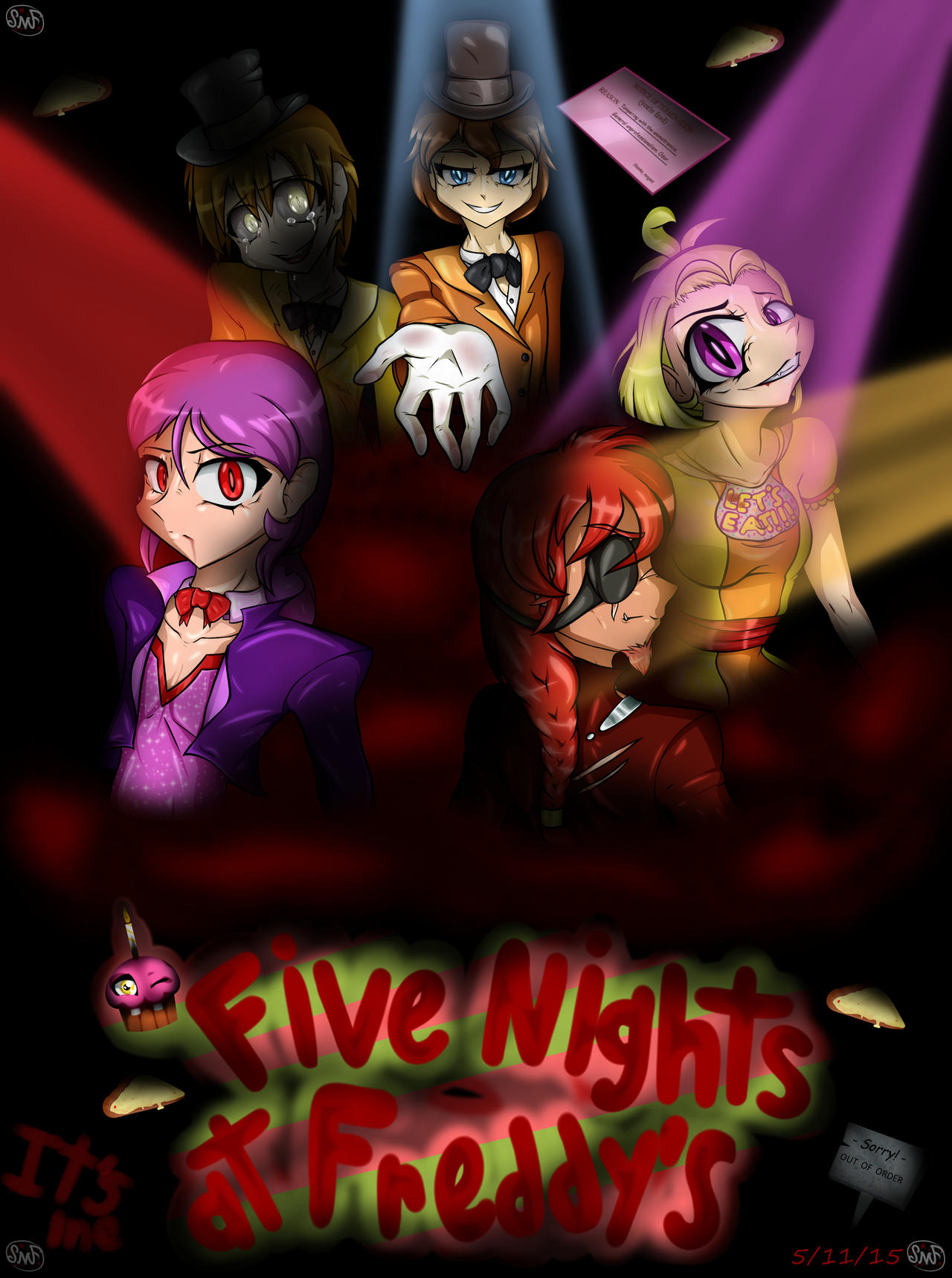 Five Nights at Freddy's 1 by SomeMonsterFangirl