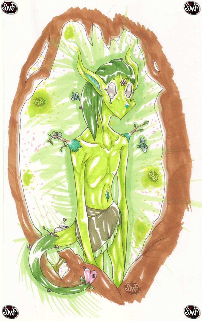 Day 4: Forest (Spirit) Fairy by SomeMonsterFangirl