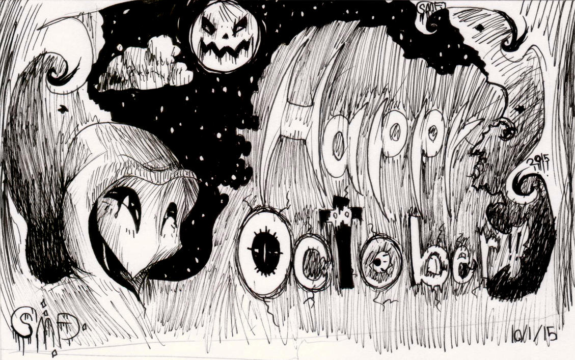 Happy October!! by SomeMonsterFangirl