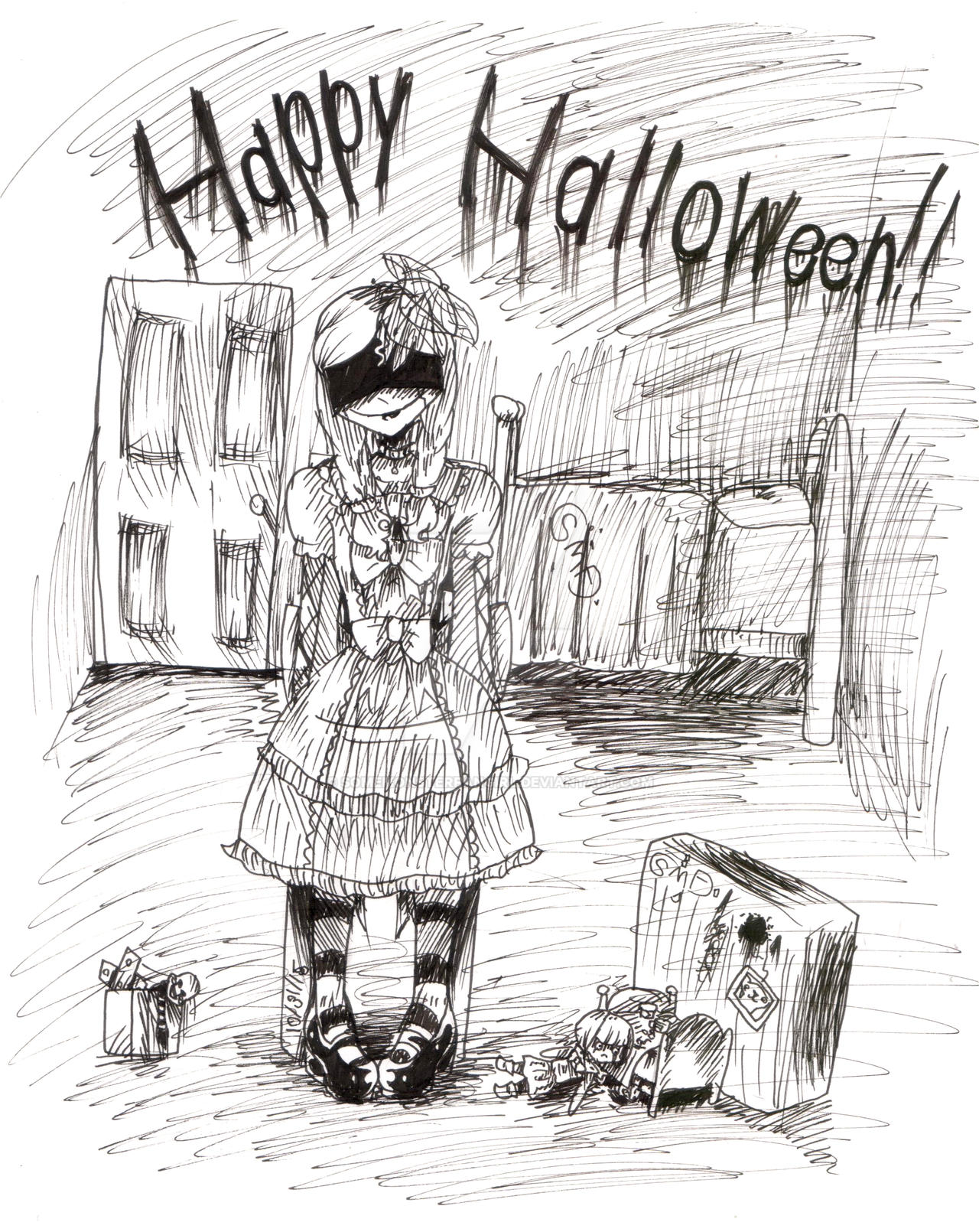 Happy Halloween by SomeMonsterFangirl