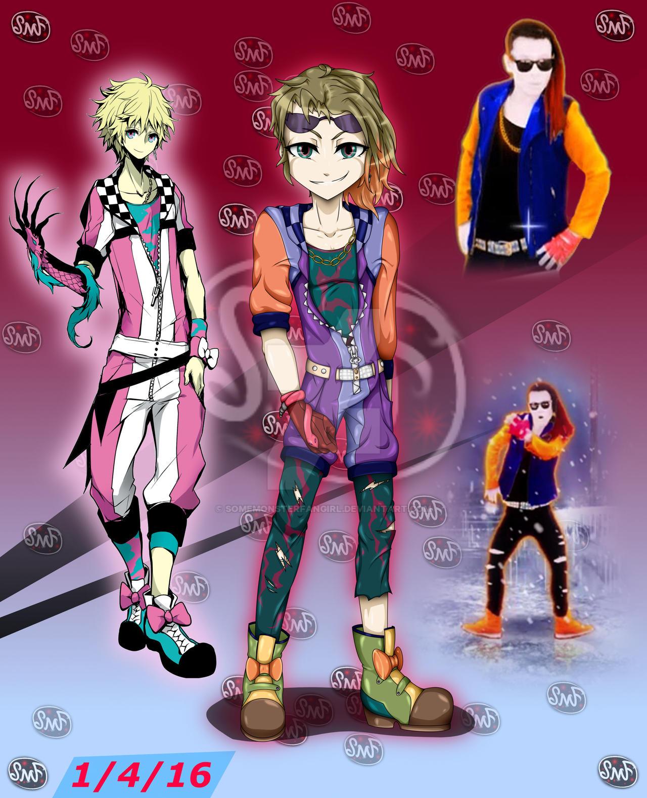 YUU Dance Coach Fusion by SomeMonsterFangirl