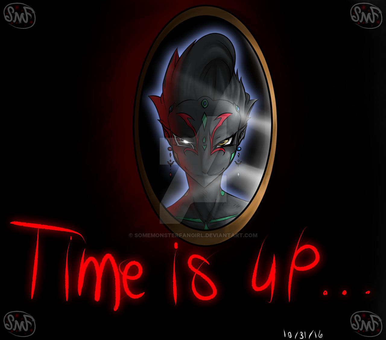 Time Is Up... by SomeMonsterFangirl