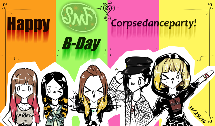 Happy B-Day Corpsedanceparty! by SomeMonsterFangirl