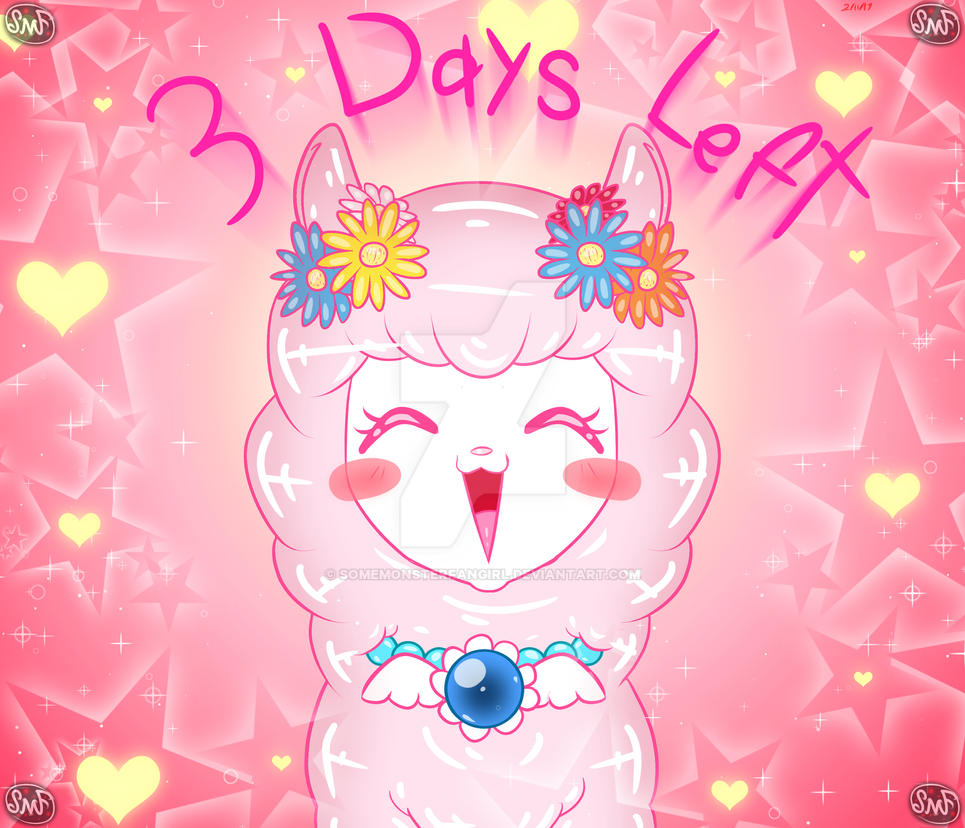 3 Days Left! by SomeMonsterFangirl