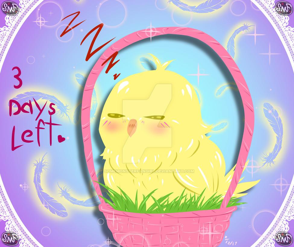 3 Days Left~ by SomeMonsterFangirl