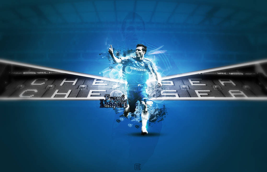 Frank Lampard - Wallpaper by The-Art-Works ...
