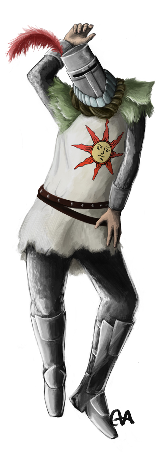 Solaire body pillow idea by temary44