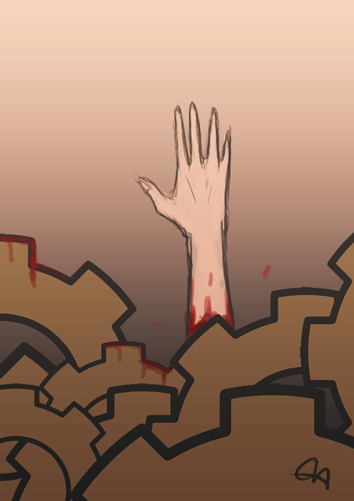 Goretober 8: Ritualistic Sacrifice by temary44