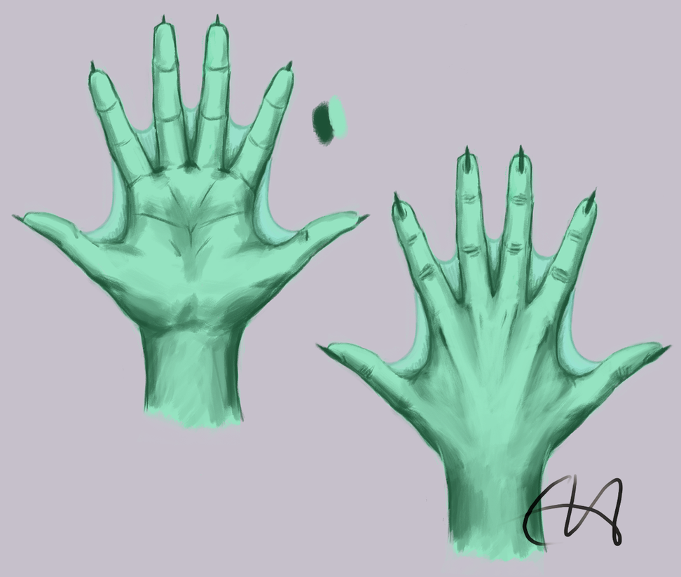 Quirr hand study by temary44