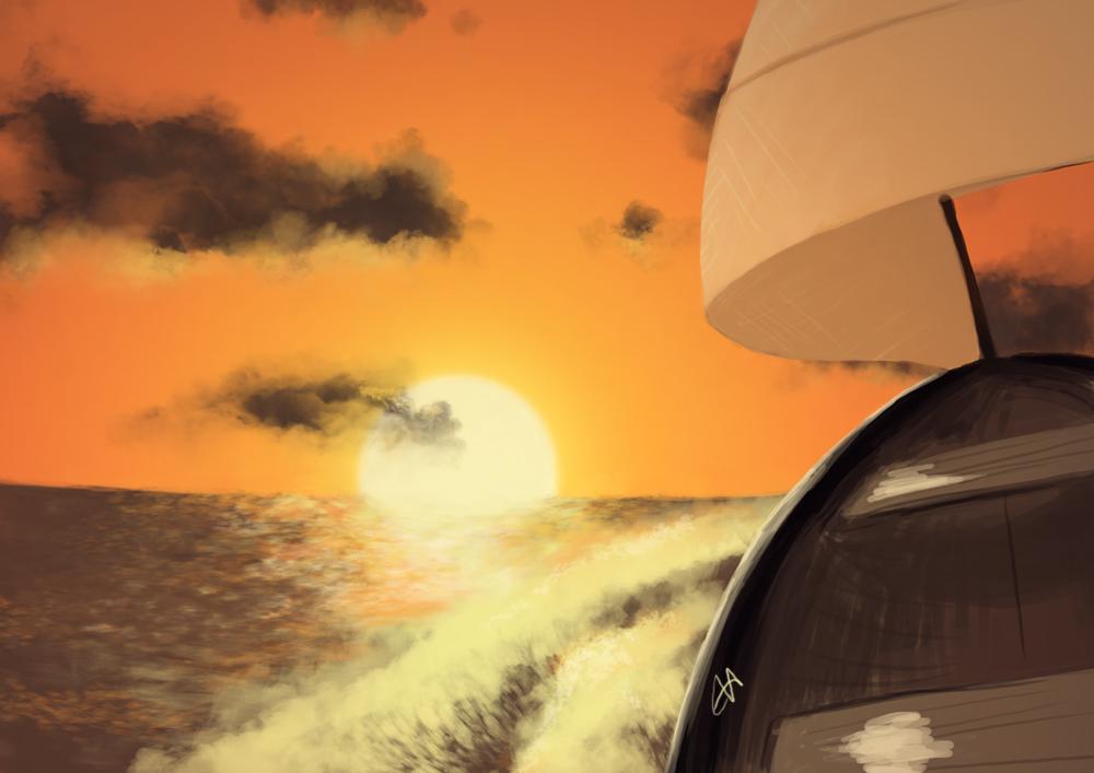 Random Sunset by temary44