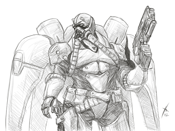 terran reaper starcraft ii by oxoxoxo on deviantart