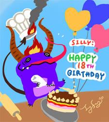Love Devil Cake by oxoxoxo