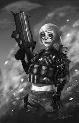 Soldier by oxoxoxo