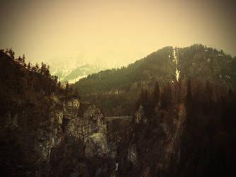 Mountain Pass by Sami27