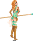 Mint Warrior by jessi-g-hardy