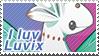 I Luv Luvix Stamp + RAFFLE! by jessi-g-hardy