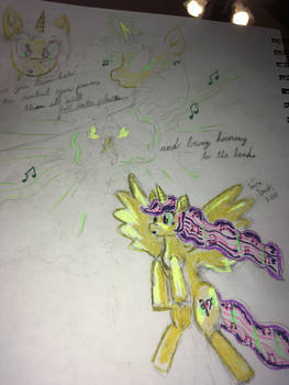 Orchestar becomes an alicorn