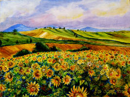 Sunflowers by JoyT