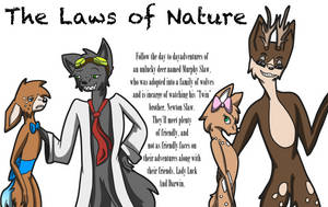 The Laws of Nature Cover/preview by Mo-fox