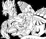 Senzo and Jasmine: My Dragon Derps