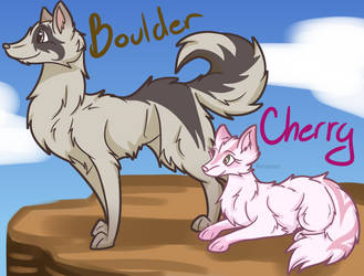 Boulder and Cherry redesign by Mo-fox