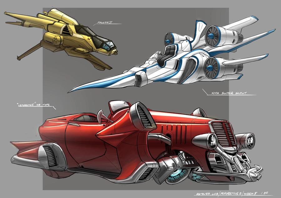 Vehicle Concept by ValKeish-Bleuriem