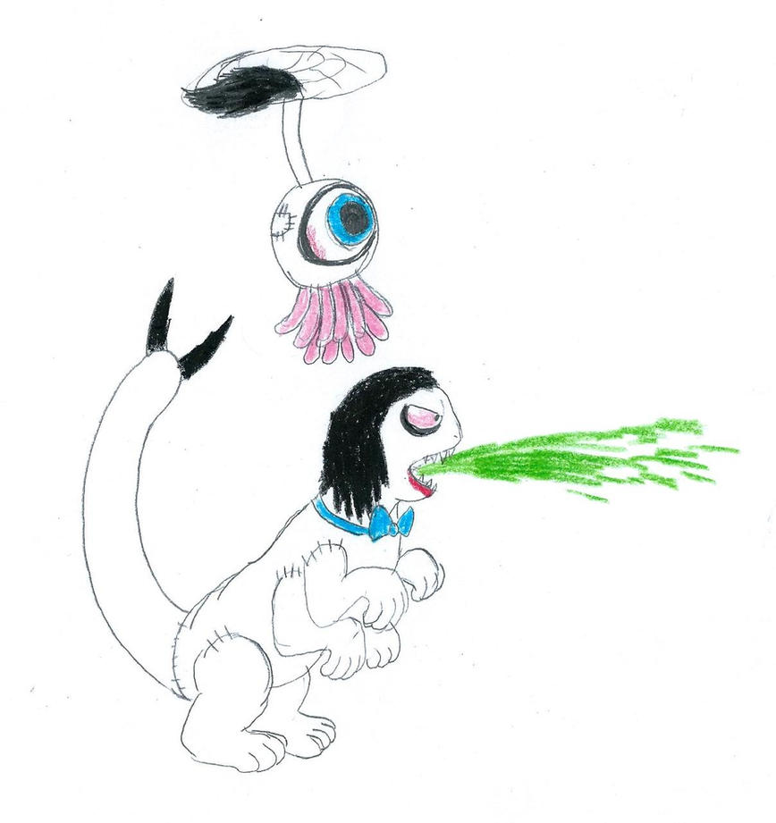 Acid Spit by furbearingbrick