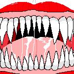 CJ's Mouth by furbearingbrick