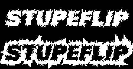 Stupeflip Pixel Art Logo by KNIGHTBRUH