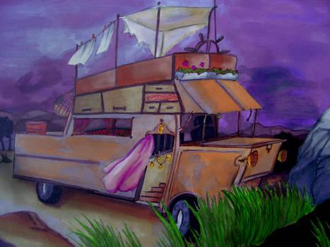 Purple trips