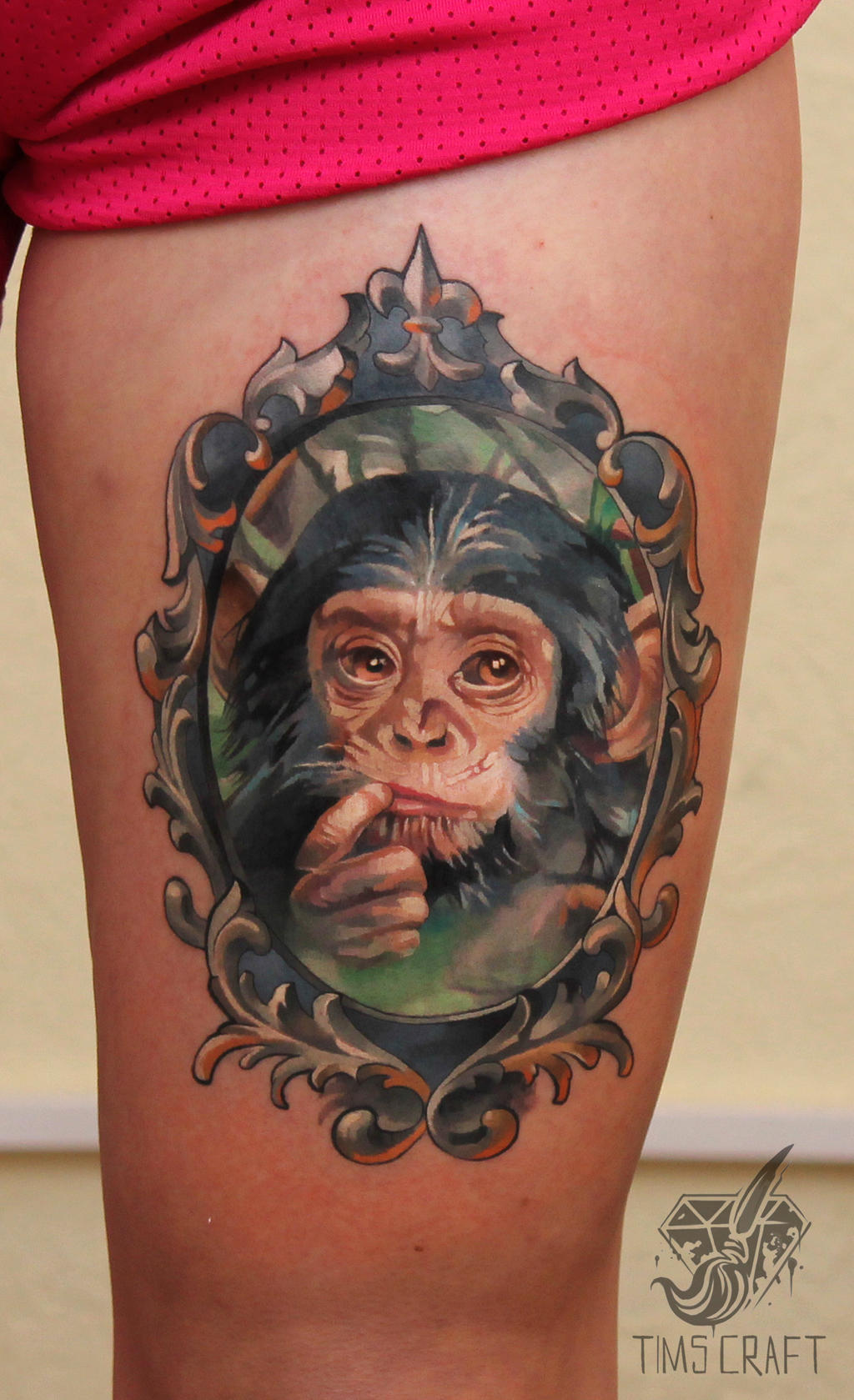 little monkey by black-3G-raven