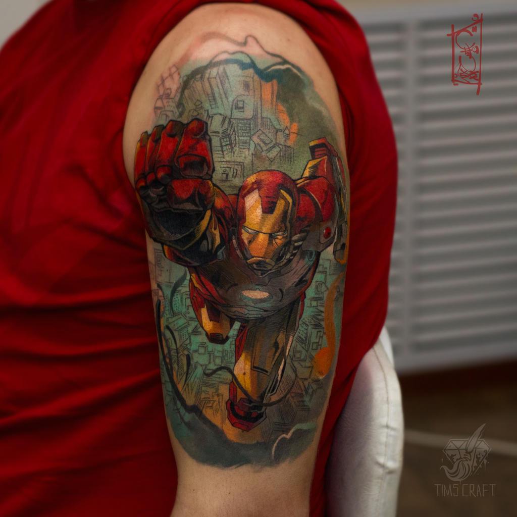 Iron man by black-3G-raven