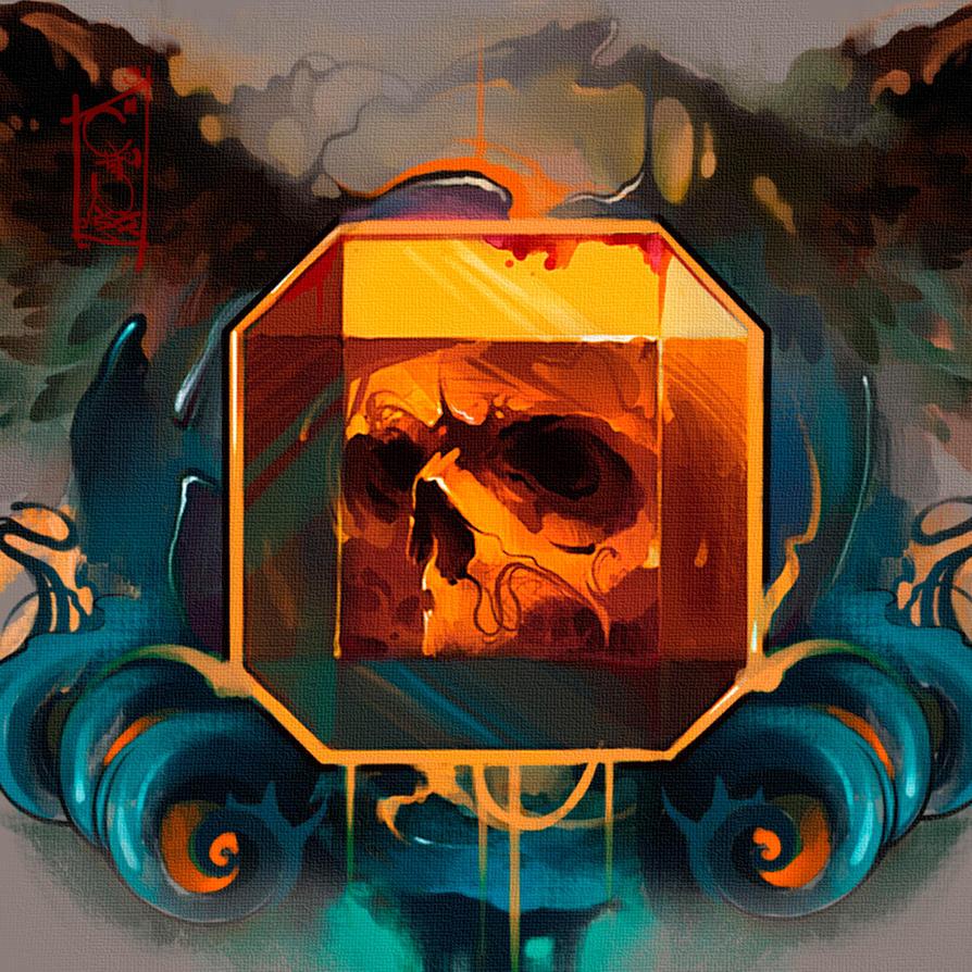skull by black-3G-raven