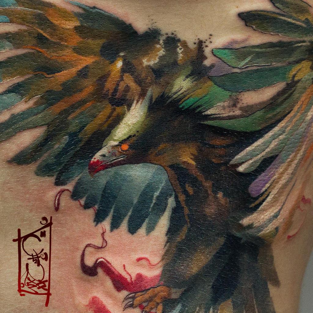 rare bird by black-3G-raven
