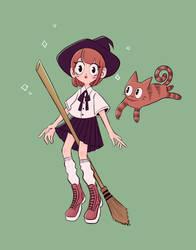 Witch by somberwish