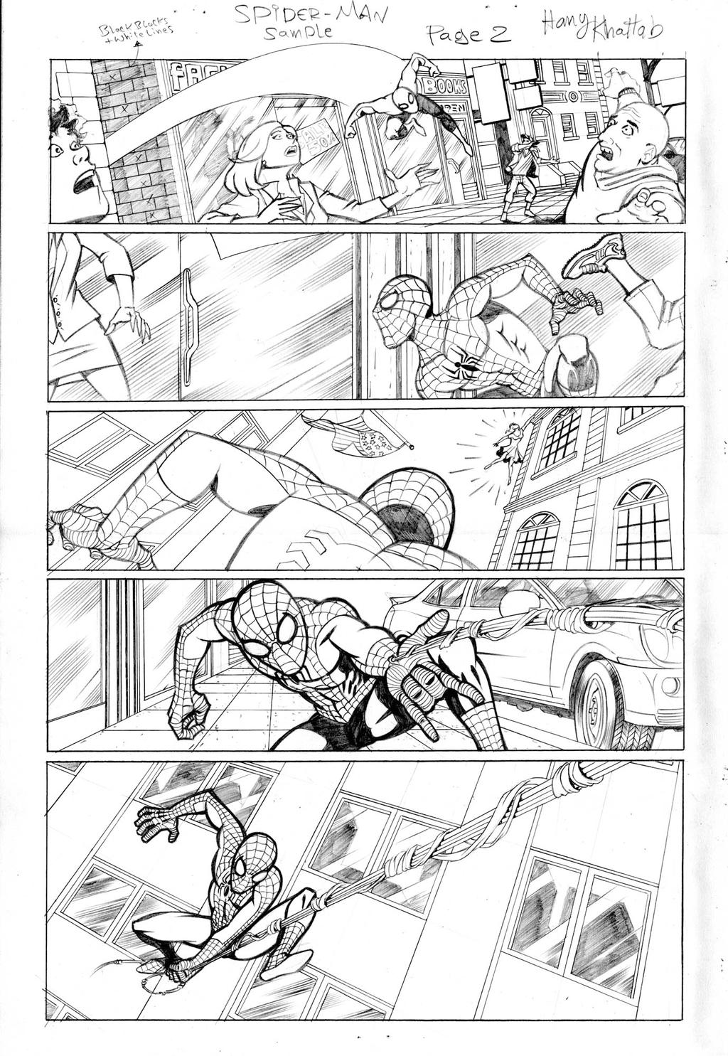 Spider-Man Sample 02 by hany-khattab