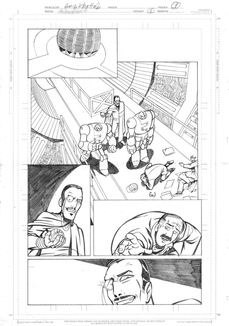 Upcoming Project page 1 by hany-khattab