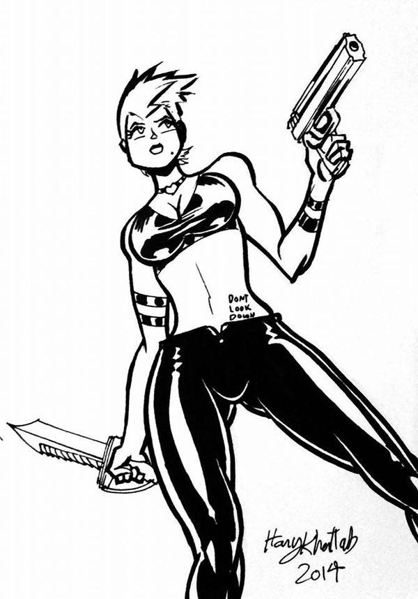 Manga Bad Babe by hany-khattab