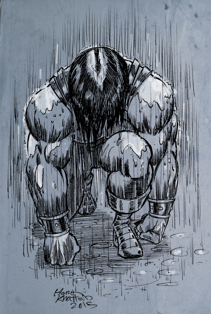 Under Heavy Rain by hany-khattab