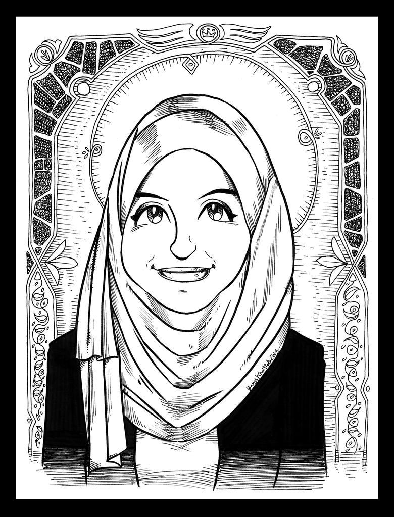 portrait manga style for a friend by hany-khattab