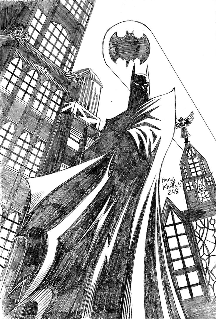 Batman of Gotham by hany-khattab