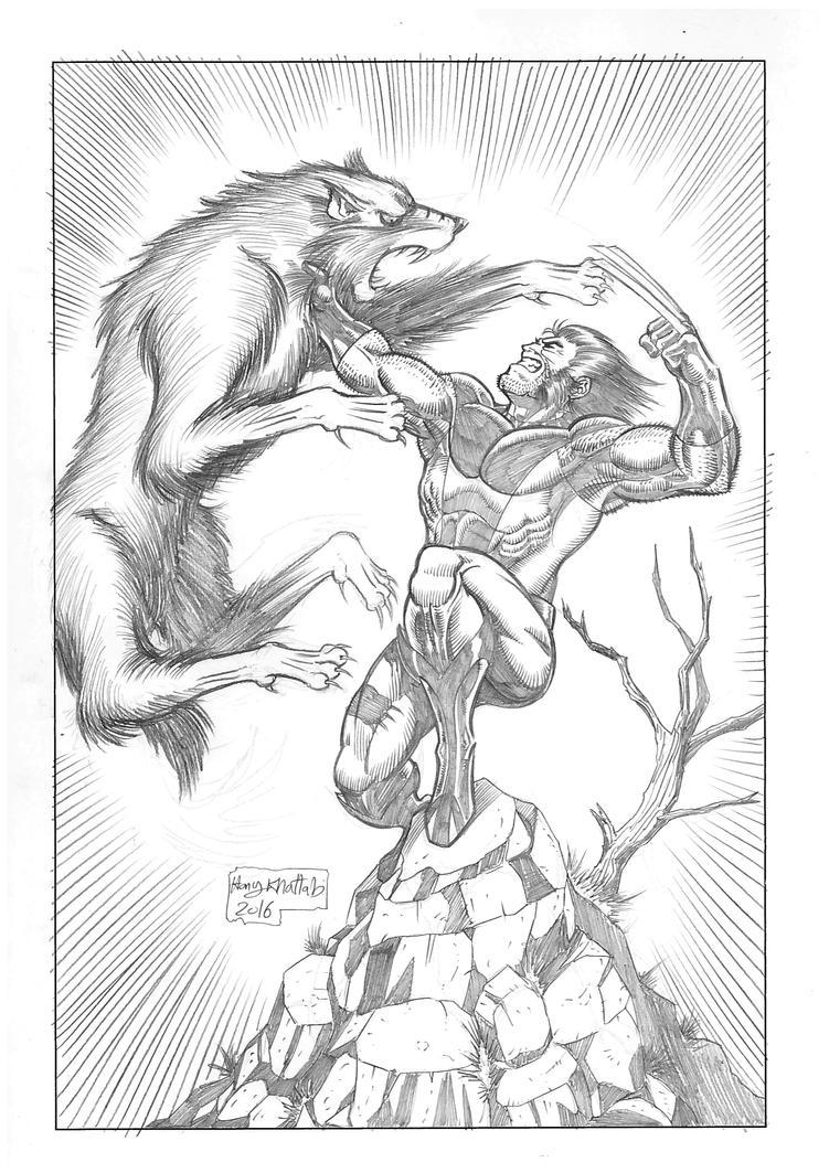 Wolverine Feral fury by hany-khattab