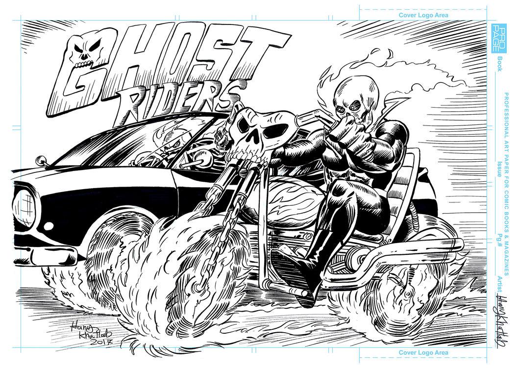 Ghost Riders by hany-khattab