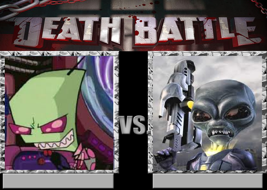 Deathbattle38: Zim vs Crypto by Mr-Wolfman-Thomas