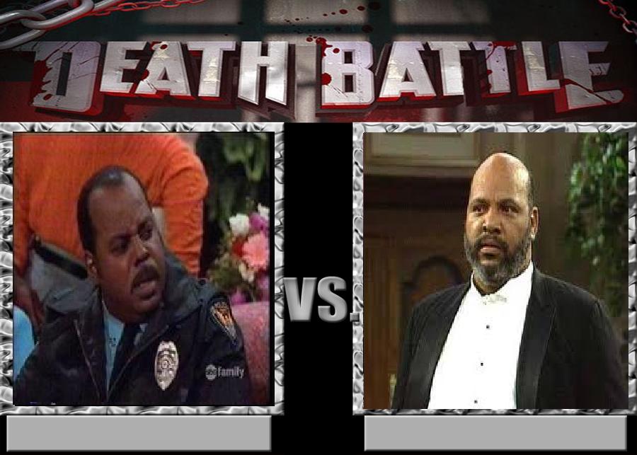 Deathbattle170: Carl Winslow vs Philip Banks by morgrag
