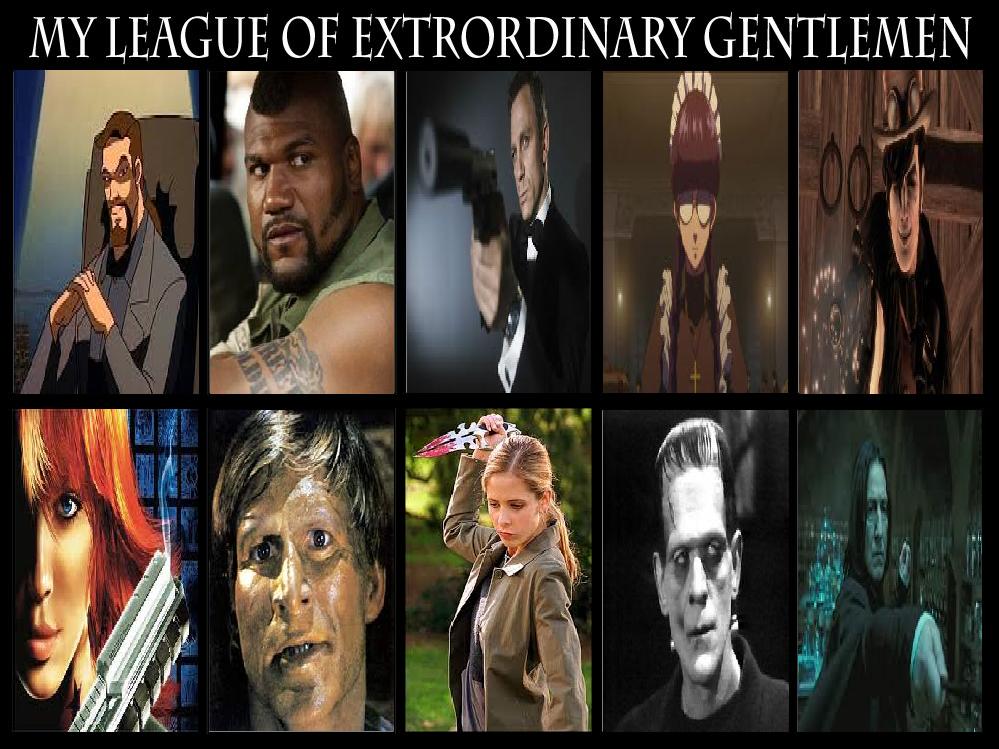 League Of Extraordinary Gentlemen Meme By Mr Wolfman Thomas On