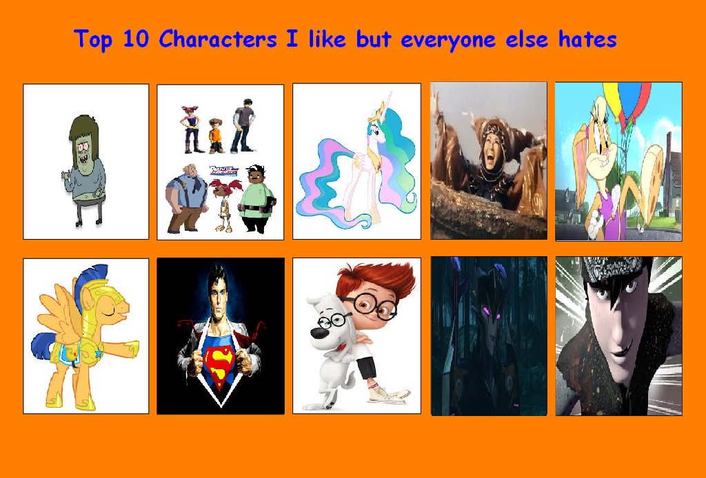 Anime Characters Everyone Hates : Top characters i like but everyone hates by mr wolfman