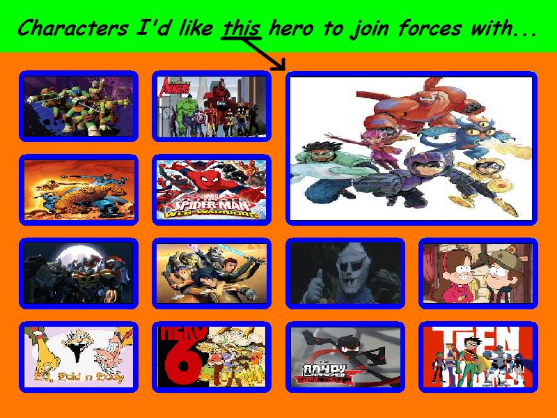 Big Hero Six Crossover Countdown List Thing...... by morgrag