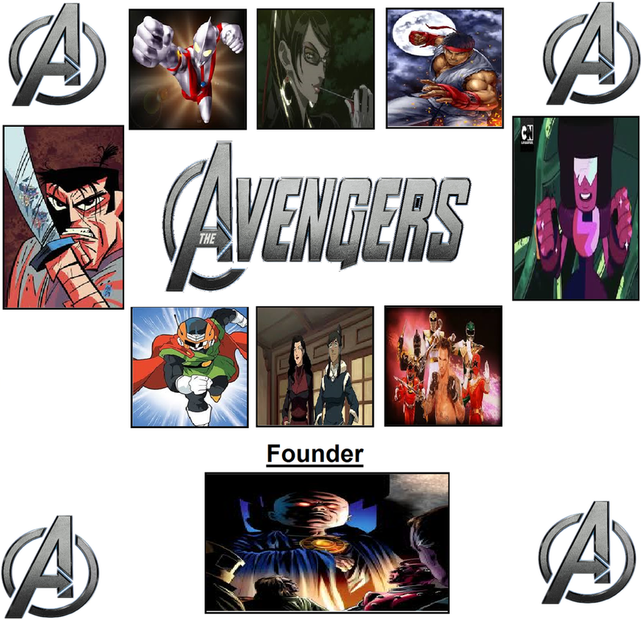 Dimensional Avengers Assemble by Mr-Wolfman-Thomas