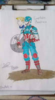 Captain America new suit